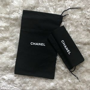 Chanel dustbags for shoes